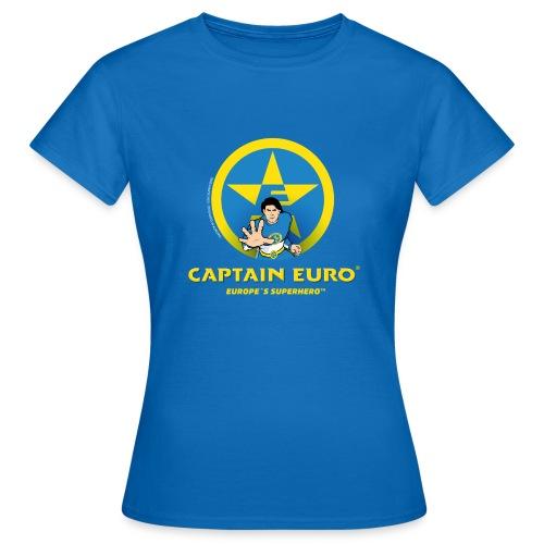 CAPITÁN EURO, SUPERHÉROE DE EUROPA - Camiseta mujer
