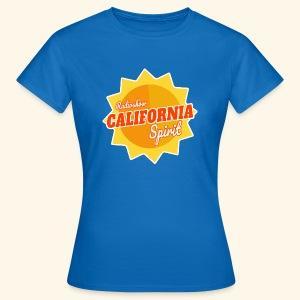 California Spirit Radioshow - T-shirt Femme
