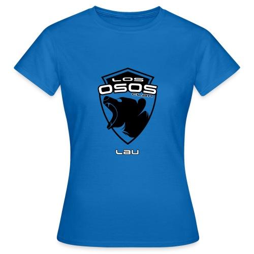 Logo OSOS para Lau - Camiseta mujer
