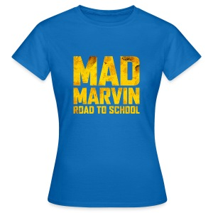 Mad Marvin: Road To School - Women's T-Shirt