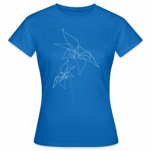 flowers white - Vrouwen T-shirt