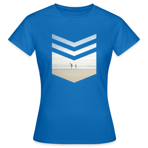 Surfing Beach - Frauen T-Shirt