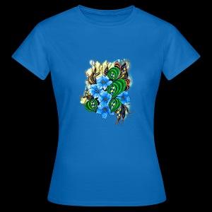 abstract flowers - Women's T-Shirt