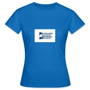 Teachers across borders logga - T-shirt dam