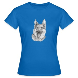 Schæfer German shepherd - Dame-T-shirt