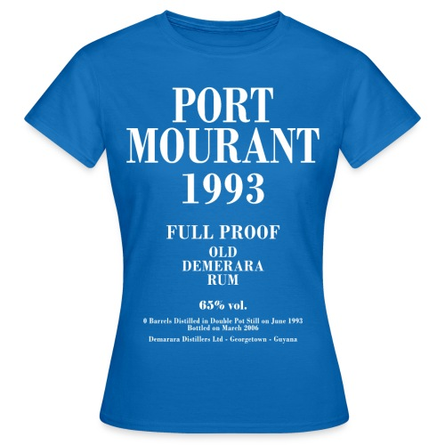Port Mourant Label Velier Demerara Designs - Dame-T-shirt