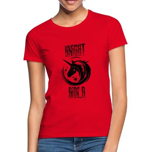 Knight Rider Unicorn - T-shirt dam