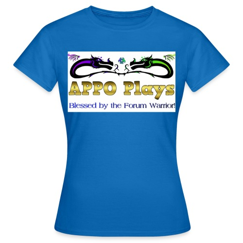 Appo Plays Dragon King - Women's T-Shirt