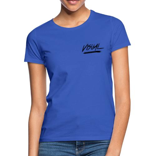 VISUAL Black Logo - Women's T-Shirt