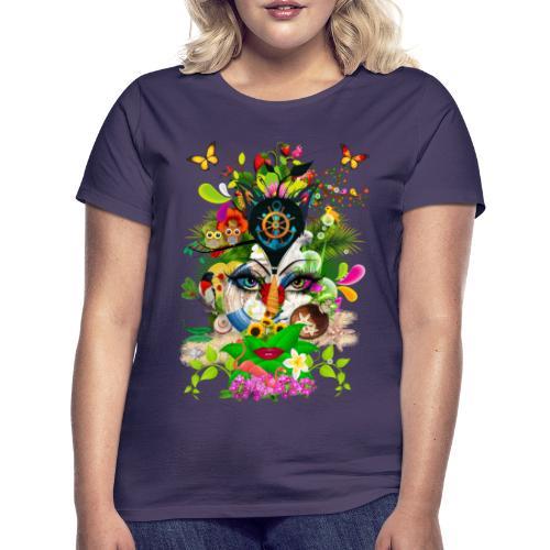 Parfum d'été by T-shirt chic et choc - T-shirt Femme