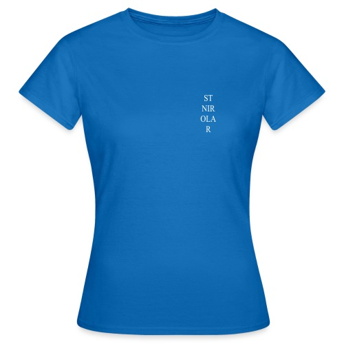 St Nirolar LOGO WIT - Vrouwen T-shirt