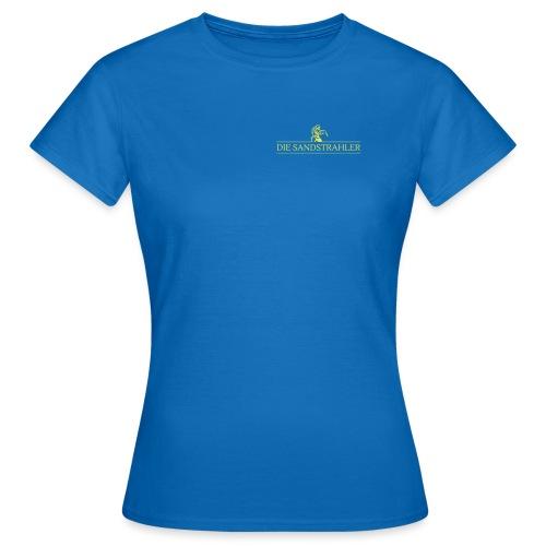 Die Sandstrahler Brust und Rücken - Frauen T-Shirt
