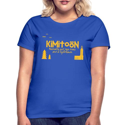 Kimitoön: two trees and a lighthouse - Naisten t-paita