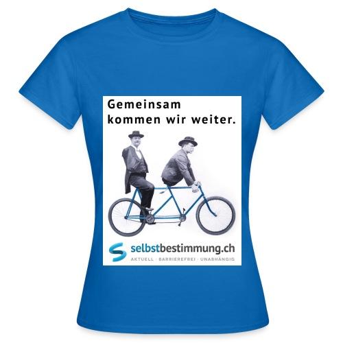 Gemeinsam weiterkommen - Frauen T-Shirt
