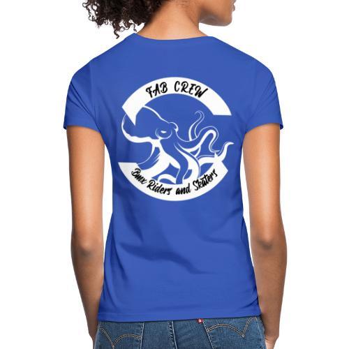 FAB CREW BLANC edition 02 19 - T-shirt Femme