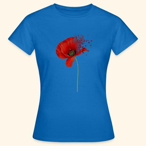 Klaproos - Vrouwen T-shirt