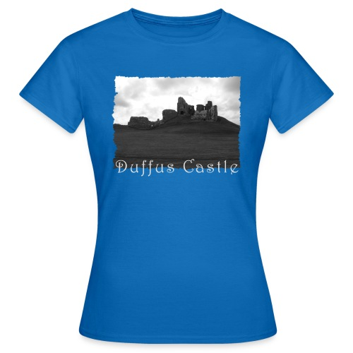 Duffus Castle #1 - Frauen T-Shirt