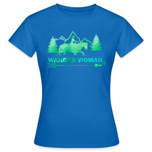 Sprücheshirt - Wander Woman - Frauen T-Shirt