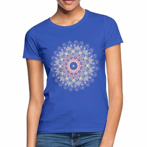 Hvid mandala - Dame-T-shirt