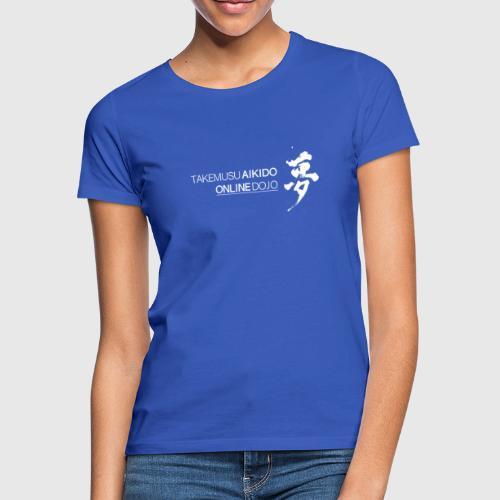 Takemusu Aikido Online Dojo - Yume White - Women's T-Shirt
