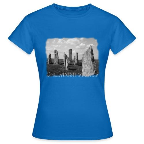 CALLANISH STONES #1 - Frauen T-Shirt