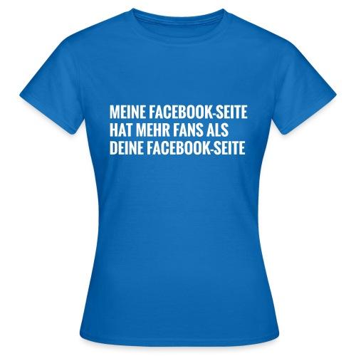 Facebook Vergleich - Frauen T-Shirt
