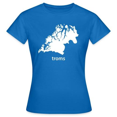 troms - T-skjorte for kvinner