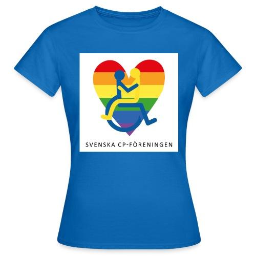 Regnbåge SvCP - T-shirt dam