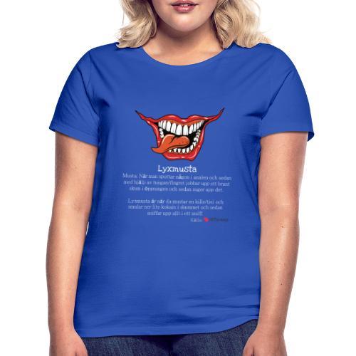 Lyxmusta - T-shirt dam