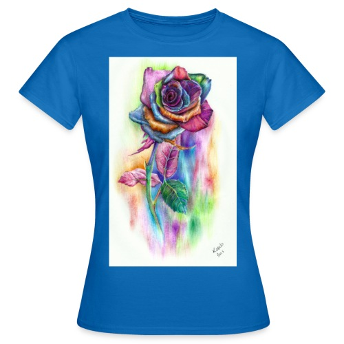 Psychedelic Rose - Women's T-Shirt