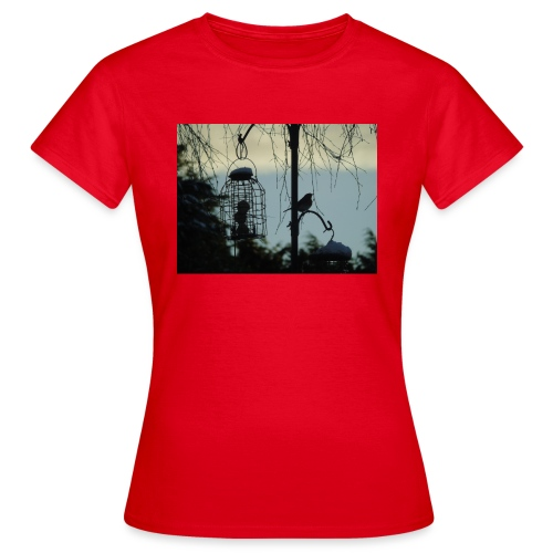 A winter bird - Women's T-Shirt