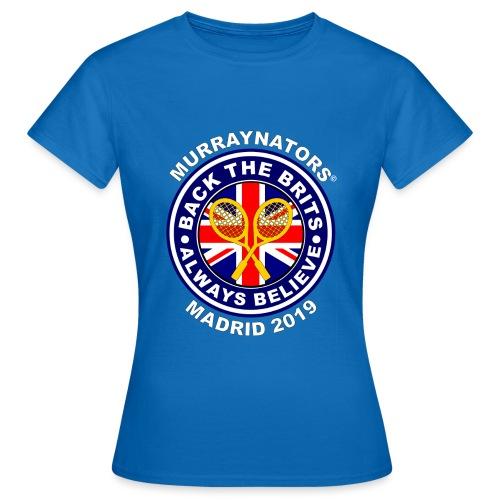 BackTheBritsMadrid19 - Women's T-Shirt