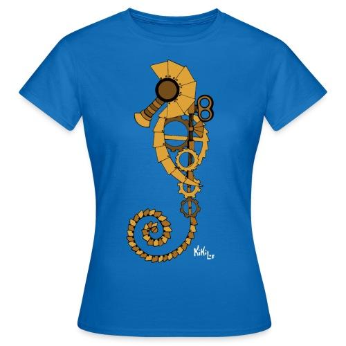 Caballito de mar Steampunk - Camiseta mujer