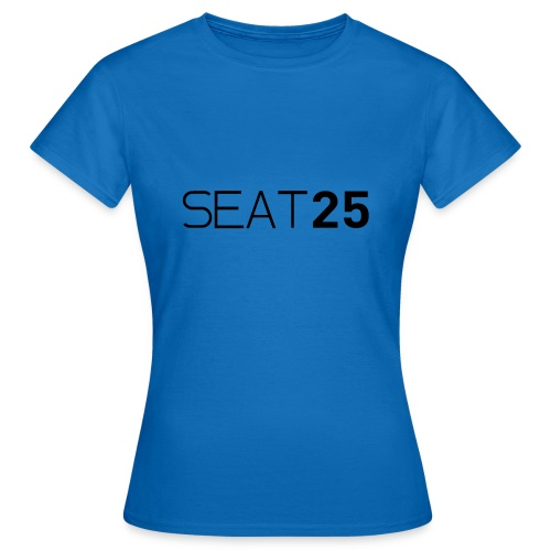 Seat25 Logo Dark - Women's T-Shirt