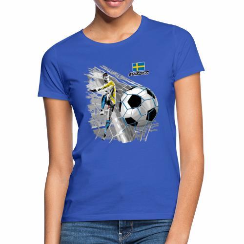 FP22F 16 SWEDEN FOOTBALL - Naisten t-paita