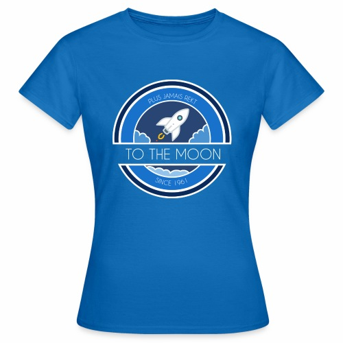 CryptoLoco - To the MOON ! - T-shirt Femme