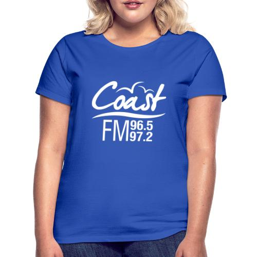Coast FM single colour print - Women's T-Shirt
