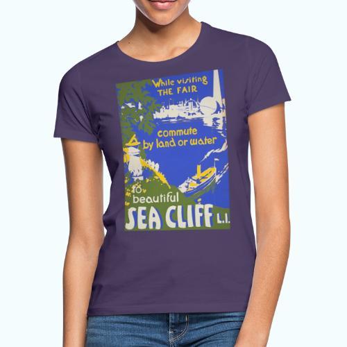 Lake travel vintage poster - Women's T-Shirt