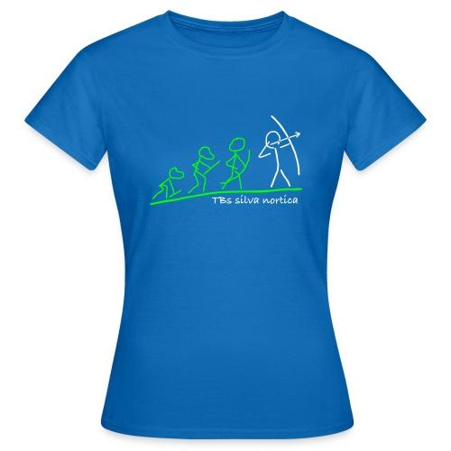 Evolution TBs silva nortica - Frauen T-Shirt
