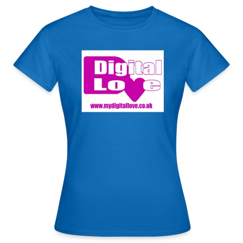 Digital Love Logo - Women's T-Shirt