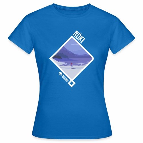 Röki Nordic Knot - Winter Walk - Women's T-Shirt