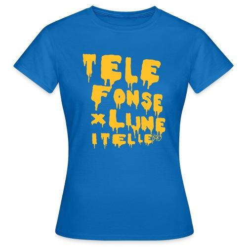 TELEFONSEXLIJNEITRELLE - T-shirt dam
