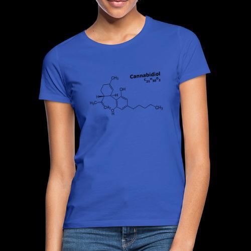 CBD Molekül - Frauen T-Shirt