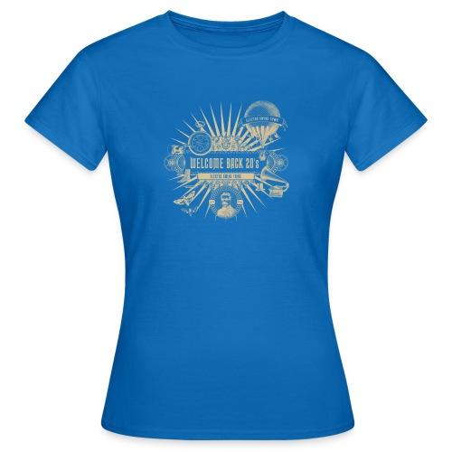 Welcome Back 20's - Frauen T-Shirt