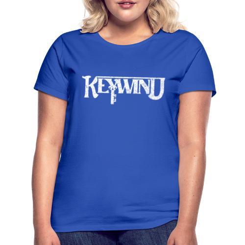 Keywind White Logo - T-skjorte for kvinner
