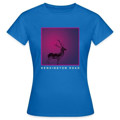 KENSINGTON ROAD PINK VIOLET STAG - Frauen T-Shirt