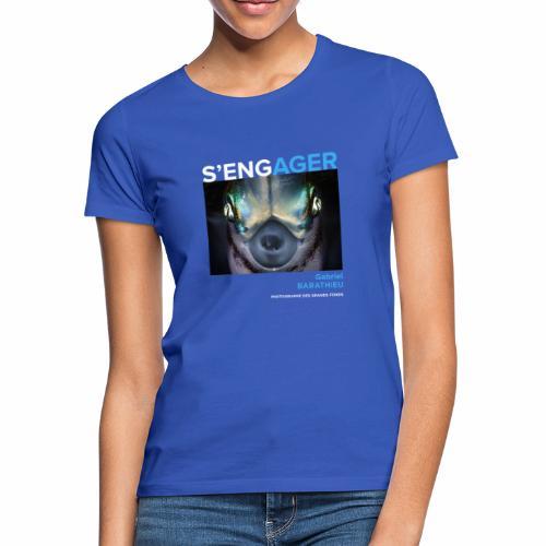 1 Achat = 1 Don à l'association Deep blue explore - T-shirt Femme