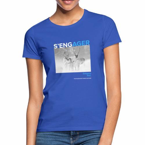 1 Achat = 1 Don au Centre de soin LPO Aquitaine - T-shirt Femme