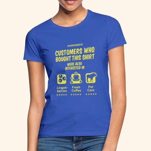 Recommendation, Sweden - Frauen T-Shirt