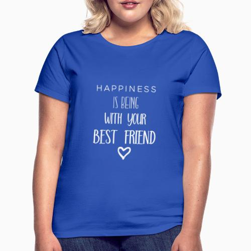 Happiness is 2nd edition white - Women's T-Shirt